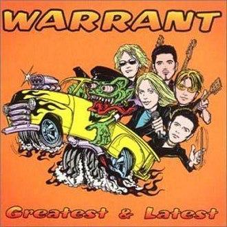 Greatest & Latest (Warrant album) - Image: Warrantgr 8