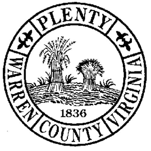 Warren County, Virginia - Image: Warren Seal Va