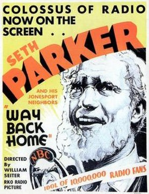 Way Back Home (1931 film) - Theatrical release poster