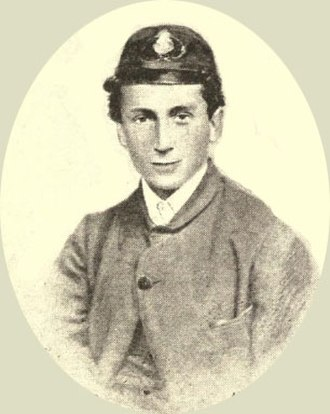 William Clark Russell - Russell as a midshipman.