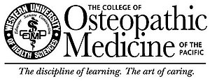 College of Osteopathic Medicine of the Pacific, Northwest - Image: Western University College of Osteopathic Medicine of the Pacific logo