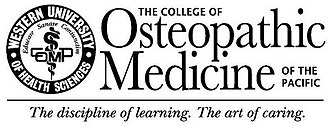 College of Osteopathic Medicine of the Pacific - Image: Western University College of Osteopathic Medicine of the Pacific logo