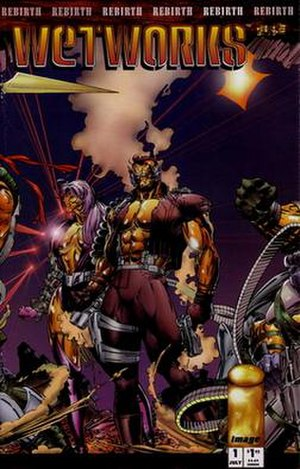 Wetworks - Cover of the first issue