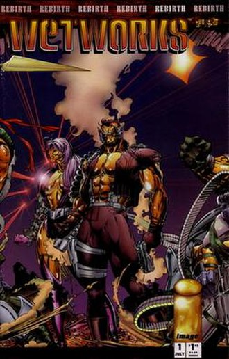 Wetworks (comics) - Cover of the first issue