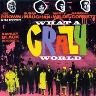 What a Crazy World - Soundtrack Album Cover