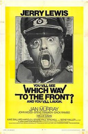 Which Way to the Front? - Theatrical release poster