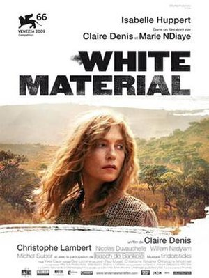 White Material - Theatrical poster