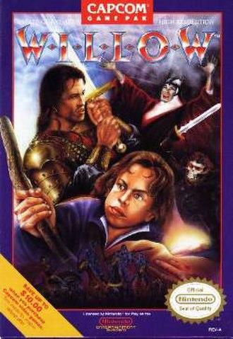 Willow (NES) - NES cover art