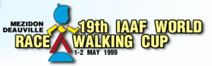 1999 IAAF World Race Walking Cup - Image: Wrc 1999 logo