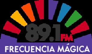 XHPMQ-FM - Image: XHPMQ 89.1Frecuencia Magica logo
