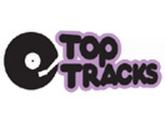 Classic Vinyl - Top Tracks logo, 2006-2008.