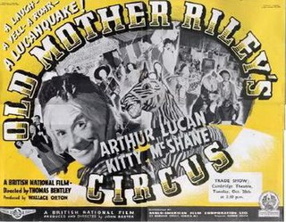 <i>Old Mother Rileys Circus</i> 1941 film