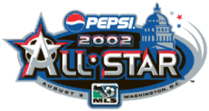 2002 MLS All-Star Game - Image: 2002 MLS All Star Game logo