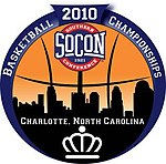 2010 SoCon men's basketball tournament logo.jpg
