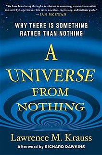 <i>A Universe from Nothing</i> book by Lawrence Krauss