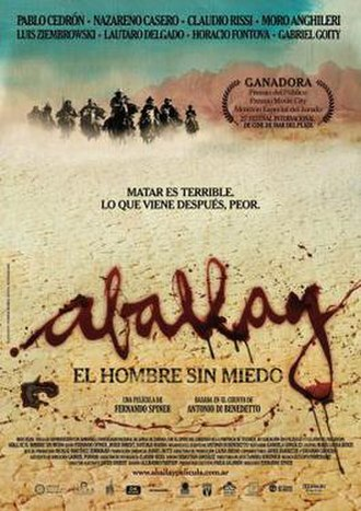 Aballay (film) - Argentinian poster
