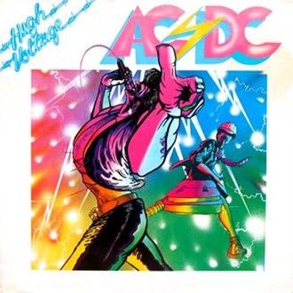 High Voltage (1976 album) - Image: Acdchighvoltageeur