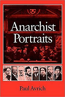 <i>Anarchist Portraits</i> book by Paul Avrich