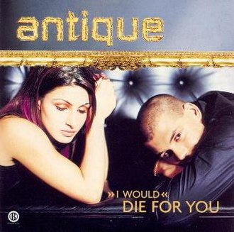 (I Would) Die for You - Image: Antique die for you single