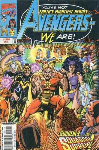 Whizzer (comics) - Image: Avengers vol 3 5