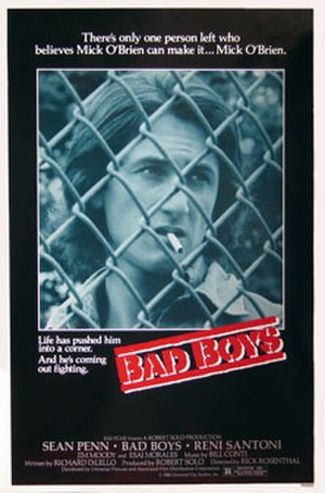 Bad Boys (1983 film) - Theatrical release poster