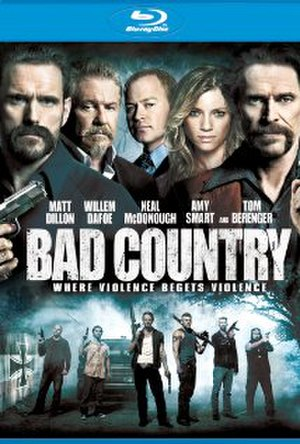 Bad Country - Blu-Ray Disc cover