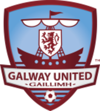 Galway United F.C. - Image: Badge of Galway United FC (2013)