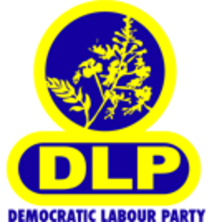 Democratic Labour Party (Barbados) - Image: Barbados Democratic Labour Party logo