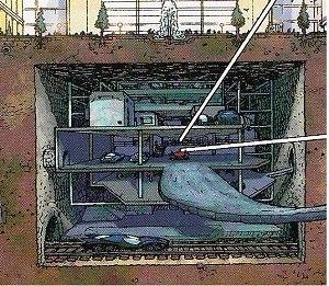 Wayne Enterprises - Image: Bat Bunker