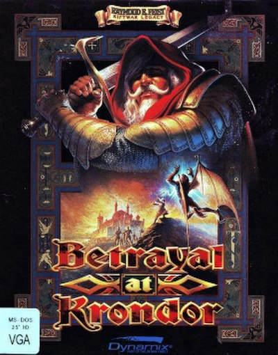 Picture of a game: Betrayal At Krondor