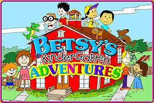 Betsy's Kindergarten Adventures - This is the title card of the series.