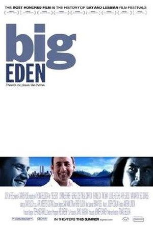 Big Eden - Theatrical release poster
