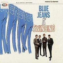 Blue jean swinging