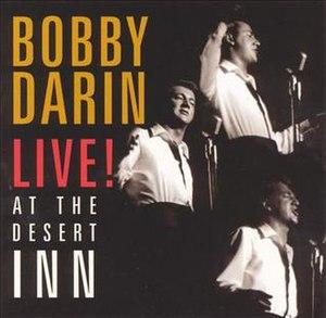 Live at the Desert Inn - Image: Bobby Darin Live At The Desert Inn
