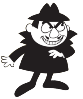 Boris Badenov antagonist of The Rocky and Bullwinkle Show