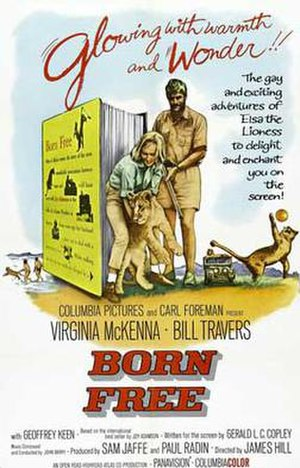 Born Free - Theatrical release poster