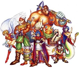 Breath of Fire (video game) - The playable characters of Breath of Fire