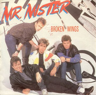 Broken Wings (Mr. Mister song) - Image: Broken Wings single cover