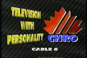 CHRO-TV - Logo used in 1993.