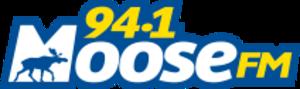 CKNR-FM - Image: CKNR 94.1Moose FM logo