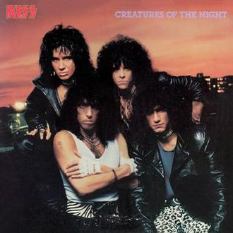 Creatures of the Night - Image: COTN album cover 1985