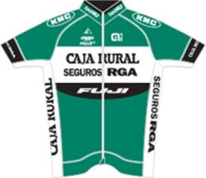 Caja Rural–Seguros RGA - Image: Caja Rural–Seguros RGA jersey