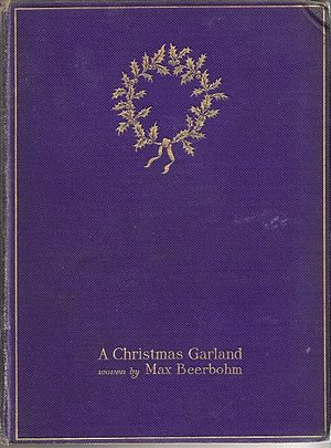 A Christmas Garland - Cover of the first edition of A Christmas Garland (1912)