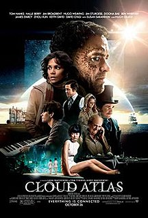 <i>Cloud Atlas</i> (film) 2012 film directed by Tom Tykwer and the Wachowskis