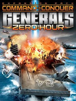 Command & Conquer: Generals – Zero Hour - Cover art