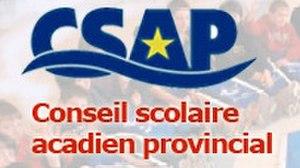 Conseil scolaire acadien provincial - Image: Conseil scolaire acadien provincial logo