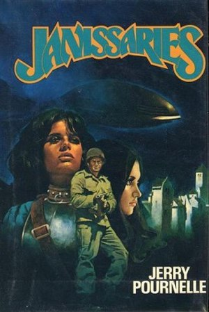 Janissaries (novel) - Image: Cover Janissaries Novel by Jerry Pournelle