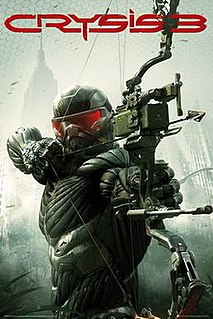<i>Crysis 3</i> first-person shooter video game from 2013
