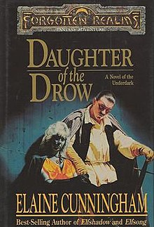 Image result for daughter of the drow elaine cunningham