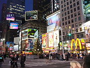 Another view of Times Square.
